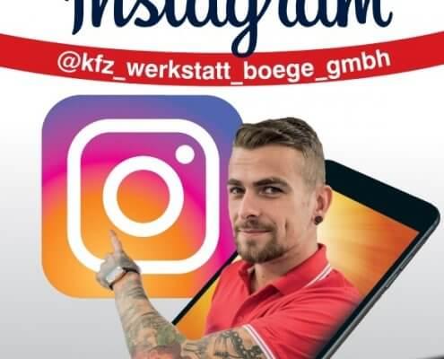 Wir sind auch auf Instagram präsent.