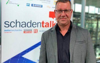 Marco Böge als Talkgast beim Schadentalk in Dresden