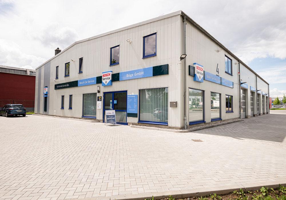 Die Werkstatt des Bosch Car Service